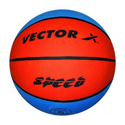 Vector-X Speed Basketball - Blue & Orange - 5