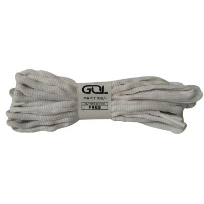 GOL Shoe Lace - White - Pack of 2