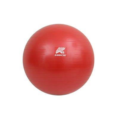 Kamachi 85 Cms Gym Ball With Foot Pump - Red