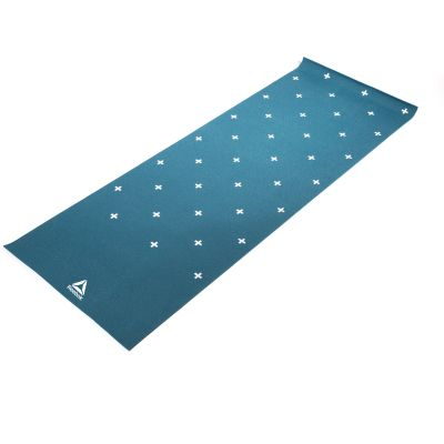 Reebok Double Sided Yoga Mat 4 MM - Green Stripes