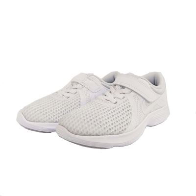 Nike Revolution 4 School Shoe - 1Y to 3Y - White